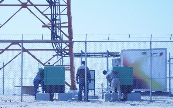 Le réseau de communication d'Arabie saoudite a recours à des groupes électrogènes Inmesol