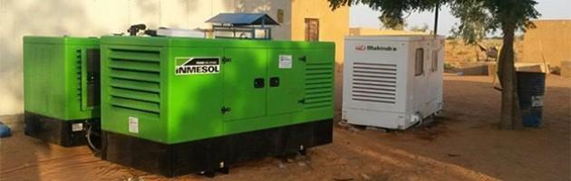L'ONU installe des groupes électrogènes Inmesol au Mali