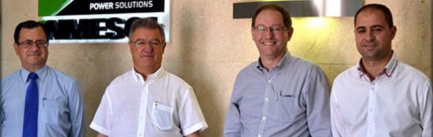 Visite du directeur d'Emaresa Construcción, notre distributeur au Chili