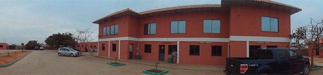 Les installations de NGRC à Luanga, Angola