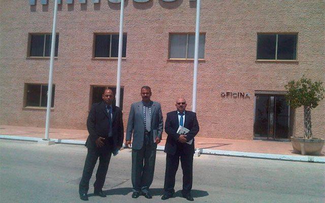 délégation du gouvernement égyptien et Egyptian Consulting & Trading Company (ECTRA)