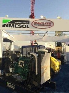 Participation d'Inmesol au salon Saudi Build 2014