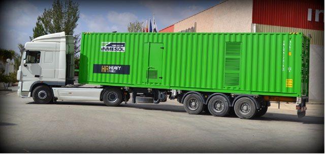 transport Groupes Électrogènes