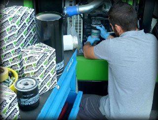 maintenance du moteur Groupes Électrogènes