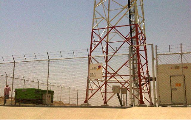 Groupes électrogènes Inmesol installés dans le désert.