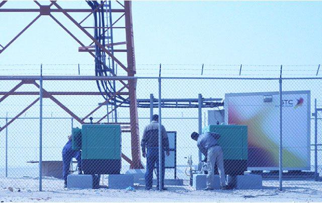 Groupes Électrogènes installés au sein de l'entreprise de télécommunications Saudí Telecom Company.