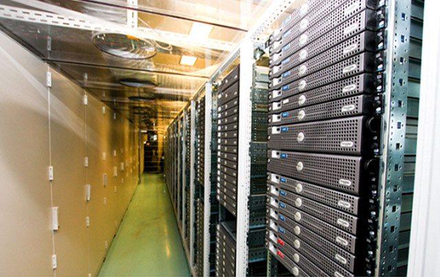 Centre de traitement des données d'Infomaniak