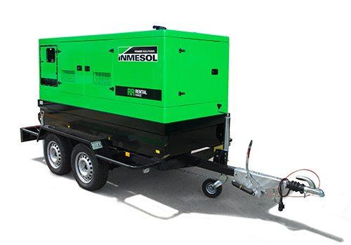 Transportables kit mobile groupes électrogènes Inmesol