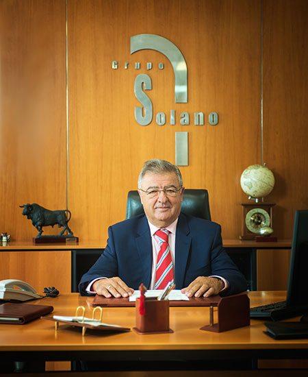 M. José Luis Solano, fondateur et président du Grupo Solano