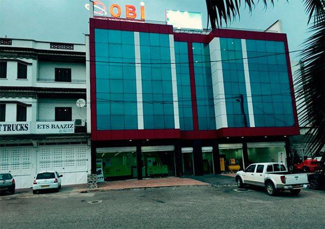 Le nouveau siège de Sarl Obi à Alger