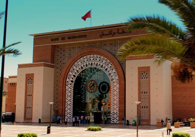 Gare de l'ONCF à Marrakech