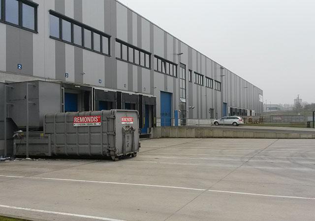 Entrepôt de distribution de produits pharmaceutiques à Werne (Allemagne)
