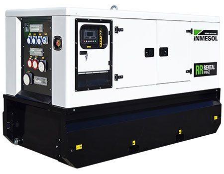 Gamme Rental. Groupe électrogène avec moteur FPT-IVECO, modèle IIR-066