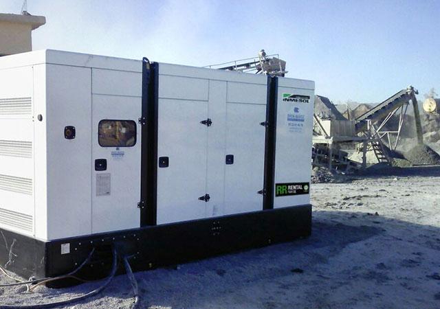 Groupes électrogènes dans le secteur minier
