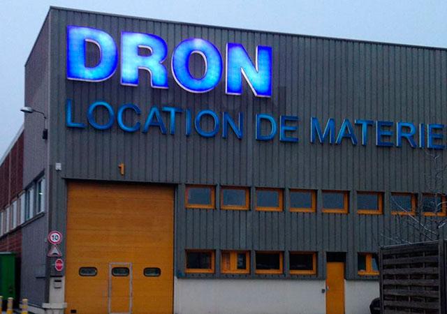La société DRON en France