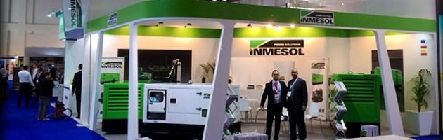 Stand d'Inmesol lors de la dernière édition de la Middle East Electricity