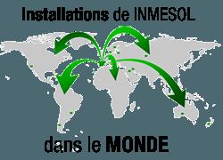 Installations de Inmesol dans le monde