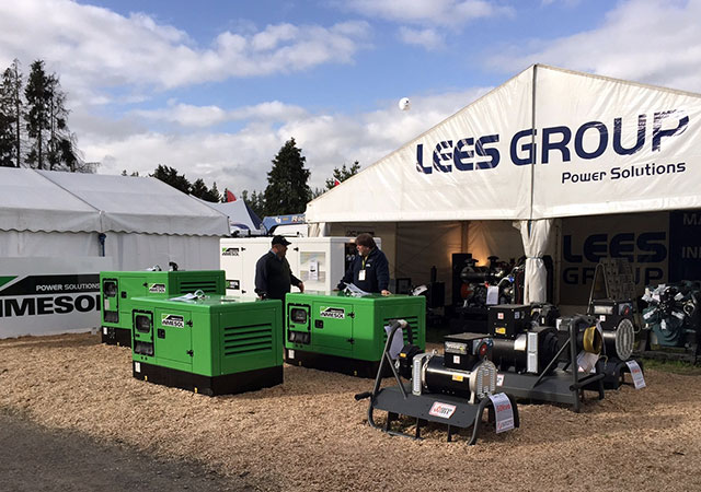 Le stand de LEES GROUP Power Solutions aux « National Agricultural Fieldays »