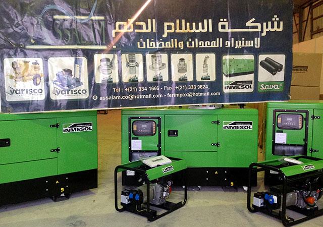 Les groupes electrogènes choisis parmi les produits de fourniture industrielle que distribue Assalam Addaem