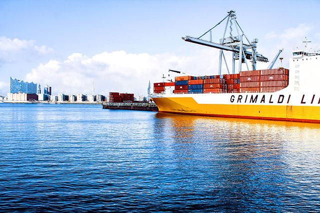 Le port de Hambourg