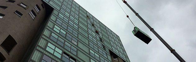 Installation d'un Groupe Électrogène au sein de l'un des plus hauts Bâtiments du Port de Hambourg