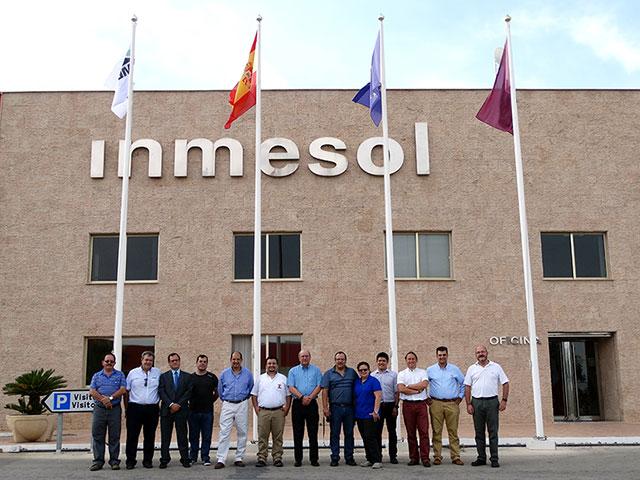 Distributeurs d'Amérique Latine, équipe technique et commerciale, avec la Direction d'INMESOL