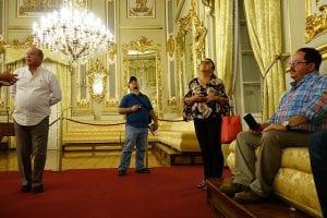 Dans le Casino Real de Murcia du XIXe siècle,