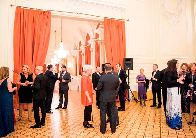 l'ASEAMAC dîner de Gala dans l'ancien Casino de Madrid , célébrant ainsi son 20ème anniversaire