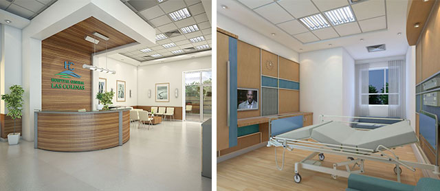 L'hôpital « Las Colinas »