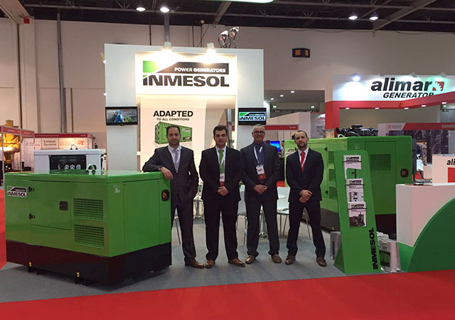 Délégation d'Inmesol au Salon Middle East Electricity 2017