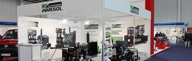 Le stand d'INMESOL à l'exposition SMAGUA 2017