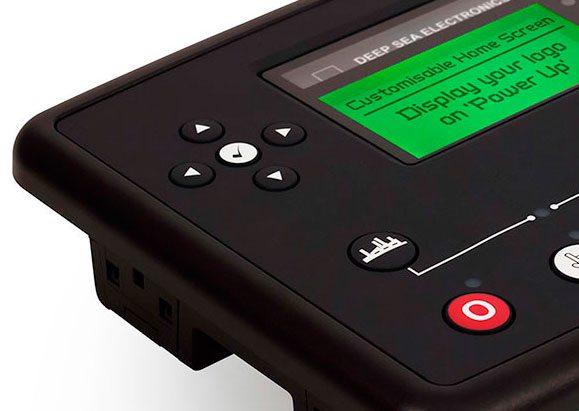 Centrale DSE73XX MKII avec écran disponible personnalisable