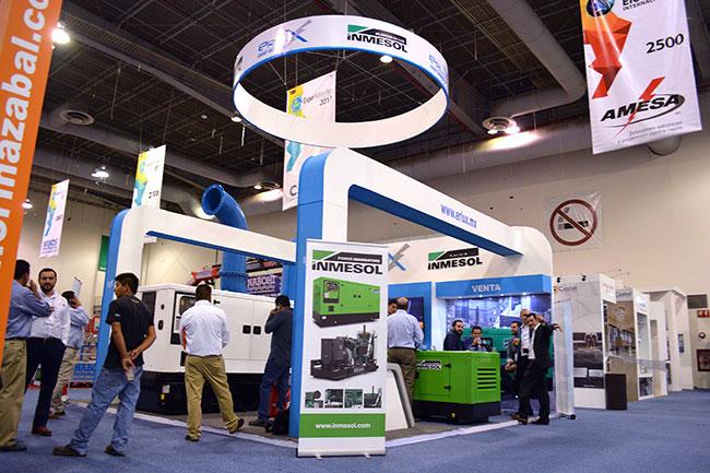 Le système de production d'énergie d'INMESOL a été présenté à l'Expo Eléctrica Internacional 2017