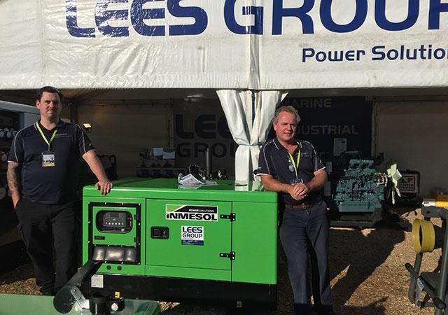 Équipe technico–commerciale de LEES GROUP Power Solutions