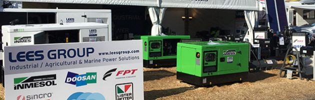 Stand de LEES GROUP Power Solutions dans National Agricultural Fieldays 2017