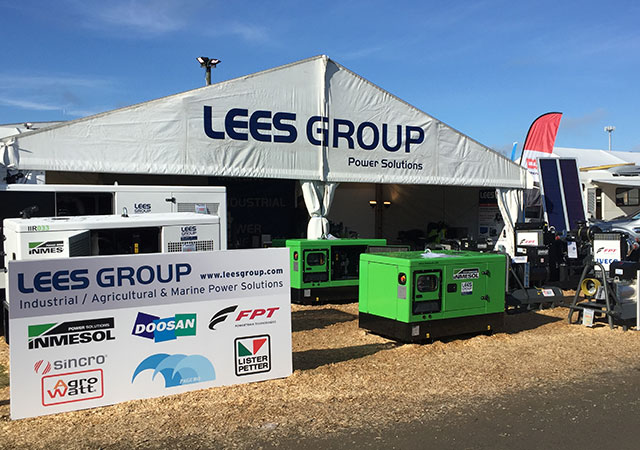 Stand de LEES GROUP Power Solutions dans National Agricultural Fieldays 2017