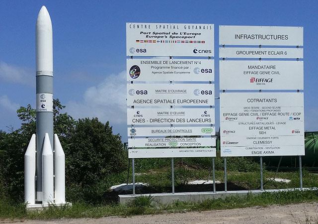 Centre Spatial Européen de Kourou ou Centre Spatial Guyanais