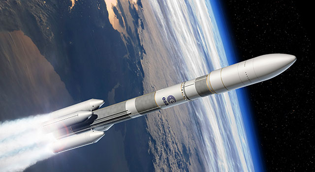 Infographie du design d'Ariane 6
