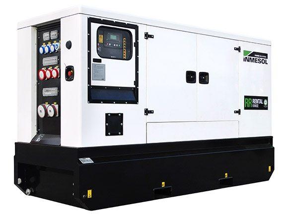 Groupe électrogène de la gamme Rental (location) avec moteur FPT, modèle IIRN‐115