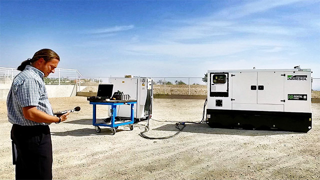 Réduction des émissions sonores de la gamme Rental (location) de groupes électrogènes INMESOL