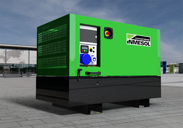 Infographie de la nouvelle carrosserie pliable INMESOL