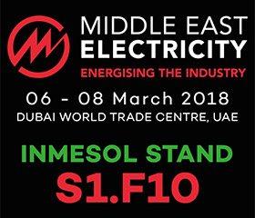 INMESOL au Moyen-Orient Électricité 2018 au stand S1.F10