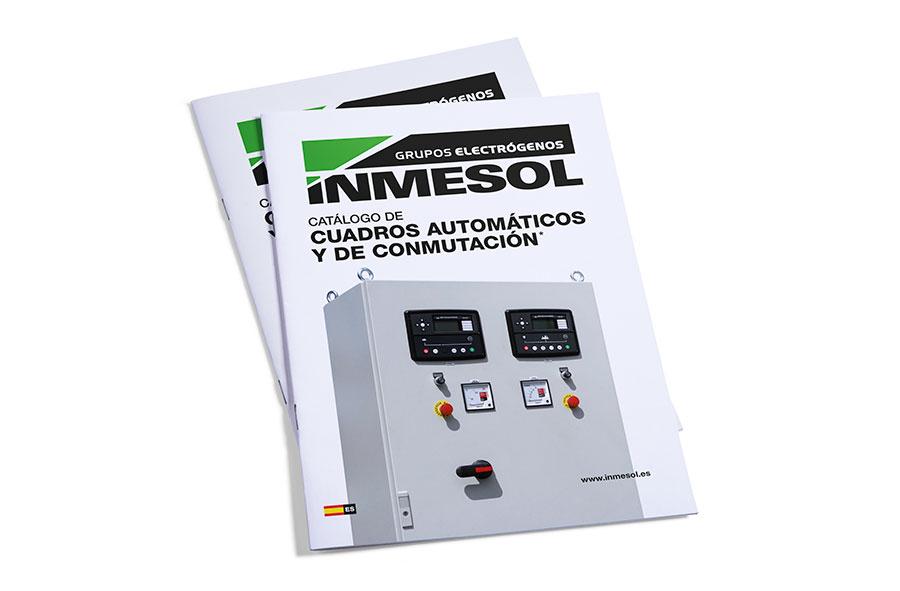 Catalogue d'armoires électriques et d'inverseurs INMESOL