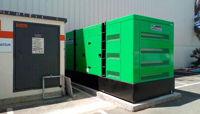 groupe électrogène de secours dans les installations de tout type d'entrepôt de médicaments