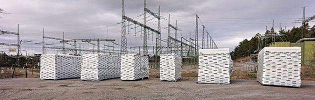 Les six groupes électrogènes fraîchement arrivés au sein des installations de la compagnie d'énergie
